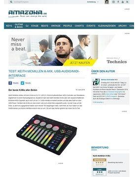 Test: Keith McMillen K-Mix, USB-Audio/MIDI-Interface