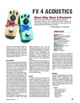 Mooer Baby Water & Woodverb, Acoustic-Effekte