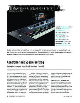 Native Instruments - Maschine & Komplete Kontrol S