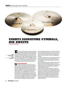 Istanbul Agop Mantra Cymbals