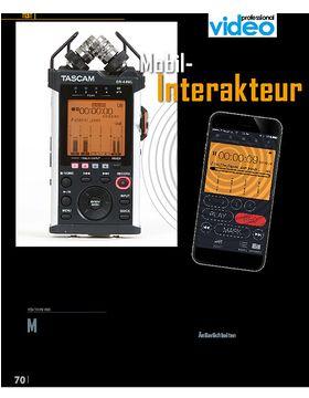 Tascam DR-44WL - Der Mobil-Interakteur
