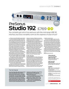 PreSonus Studio 192