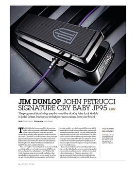 Jim Dunlop John Petrucci Signature Cry Baby JP95