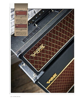 Vox AC15 Custom Head, AC30 Custom Head