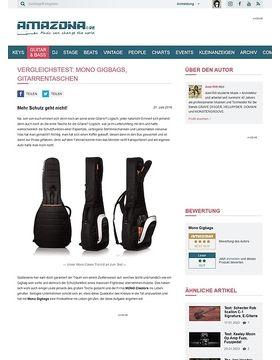 Vergleichstest: Mono Gigbags, Gitarrentaschen