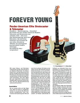 Fender American Elite Stratocaster & Telecaster, E-Gitarren