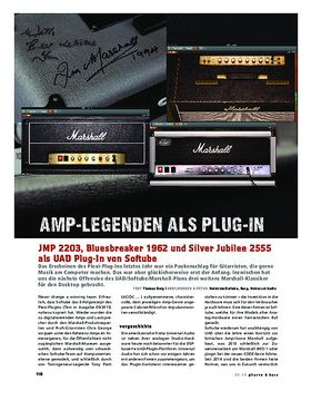 Marshall-Amps als UAD Plug-In von Softube