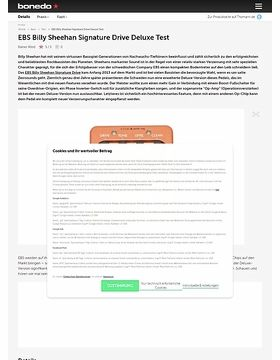 EBS Billy Sheehan Signature Drive Deluxe