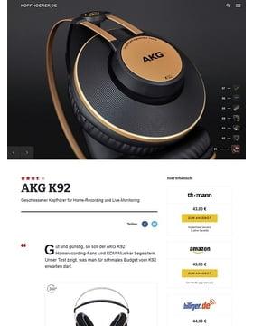 AKG K-92