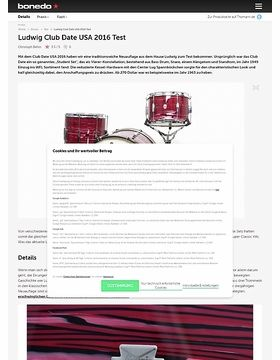 Ludwig Club Date USA 2016
