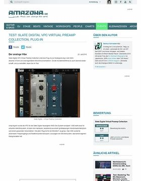 Test: Slate Digital VPC Virtual Preamp Collection, Plug-in