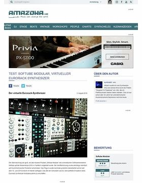 TEST: Softube Modular, virtueller Eurorack Synthesizer