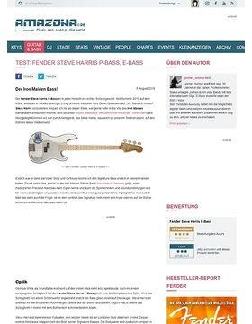 Test: Fender Steve Harris P-Bass, E-Bass