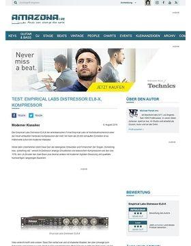 Test: Empirical Labs Distressor EL8-X, Kompressor