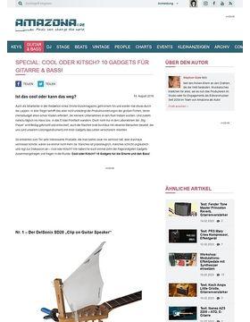 Special: Cool oder Kitsch? 10 Gadgets für Gitarre & Bass!