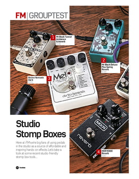 Studio Stomp Boxes