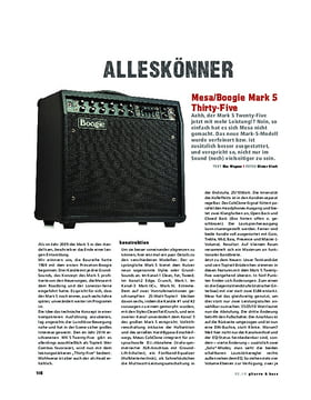 Mesa/Boogie Mark 5 Thirty-Five