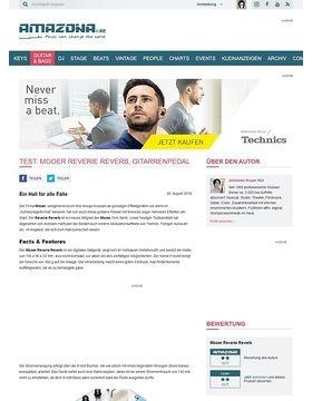 Test: Mooer Reverie Reverb, Effektgerät für E-Gitarre