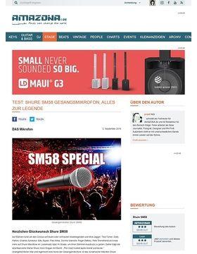 Special: Shure SM58, die Geschichte