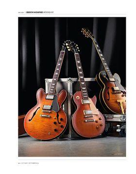Gibson ES-275 Figured, ES-335 Premiere Figured and ES-Les Paul Standard