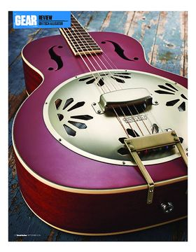 Gretsch G9241 Alligator Biscuit Roundneck