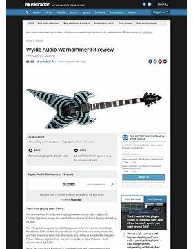 Wylde Audio Warhammer FR