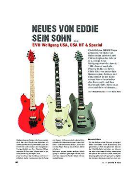 EVH Wolfgang USA, USA HT & Special, E-Gitarren