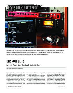 Focusrite Clarett 8Pre - Thunderbolt-Audio-Interface