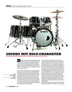 Yamaha Recording Custom Drums