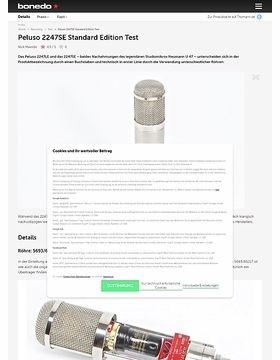 Peluso 2247SE Standard Edition