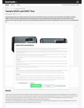 Yamaha EMX5 und EMX7