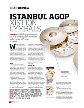 Istanbul Agop Xist ION Cymbals