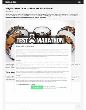 Vergleichstest Tama Soundworks Snare Drums