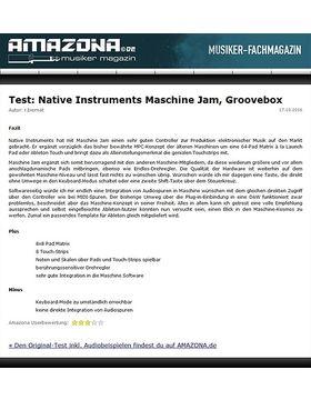 Test: Native Instruments Maschine Jam, Groove Studio