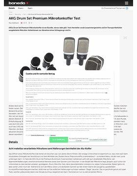 AKG Drum Set Premium