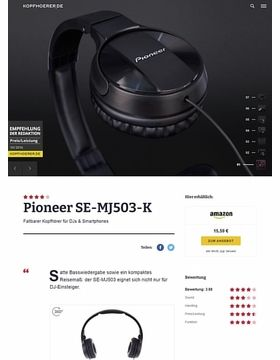 Pioneer SE-MJ503