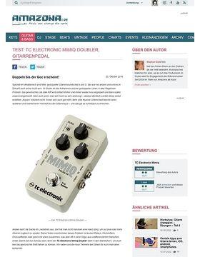 Test: TC Electronic Mimiq Doubler, Effektgerät für Gitarre