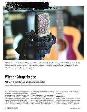AKG C 314 - Multipattern-Großmembranmikrofon