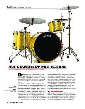 Ludwig Keystone X Drums