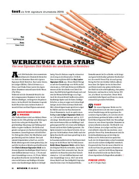 Vic Firth Signature Drumsticks 2016