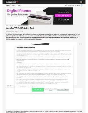 yamaha ydp 143 r arius set musikhaus thomann. Black Bedroom Furniture Sets. Home Design Ideas