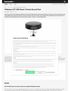 Millenium DT-900 Drum Throne Round