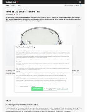 Tama BB156 Bell Brass Snare