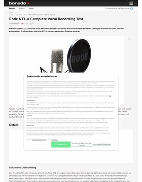 NT1-A Complete Vocal Recording