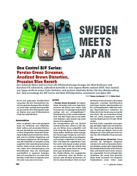 One Control BJF Series, FX-Pedale