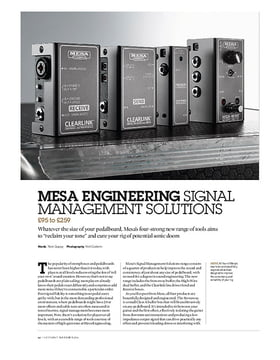 Mesa High-Wire Dual Buffer & Output Boost