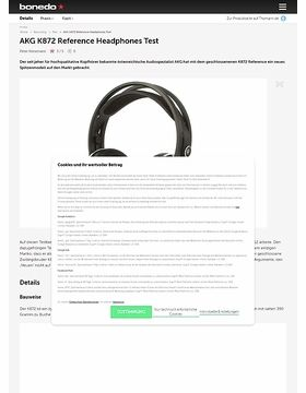 AKG K872 Reference