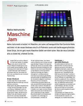 Maschine Jam