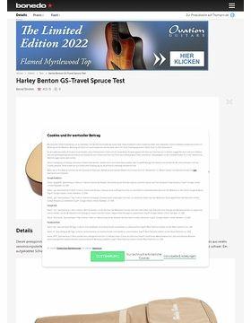 Harley Benton GS-Travel Spruce