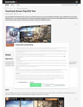 Toontrack Dream Pop EZX